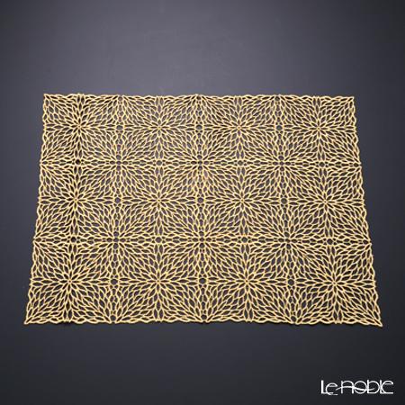 箔一 煌美 きらび ミニランナー ゴールドレース 41×32cm A161-01016