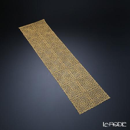箔一 煌美 きらび テーブルランナー ゴールドレース細 20×85cm A161-01017