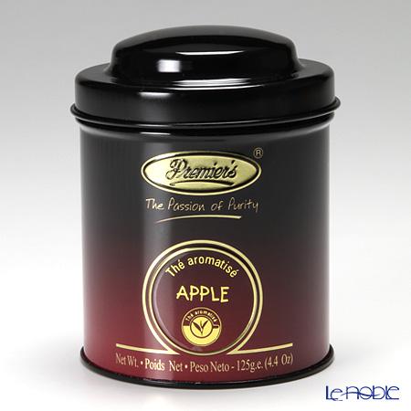 プリミアスティー(高級インド紅茶) オリジナルキャディー缶 125g アップル