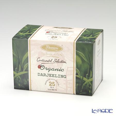 プリミアスティー(高級インド紅茶) コンチネンタルセレクション ティーバッグセット 25個入 ダージリン(オーガニック)