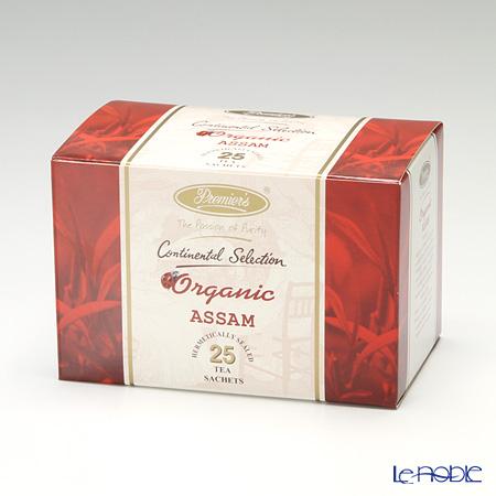 プリミアスティー(高級インド紅茶) コンチネンタルセレクションティーバッグセット 25個入 アッサム(オーガニック)