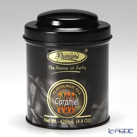 プリミアスティー(高級インド紅茶)オリジナルキャディー缶 125g キャラメル