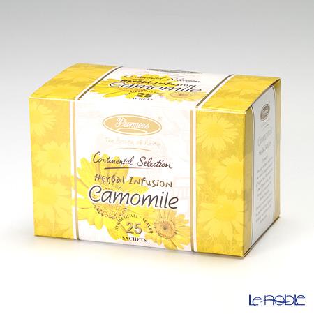 プリミアスティー(高級インド紅茶) コンチネンタルセレクション ティーバッグセット 25個入 カモミール