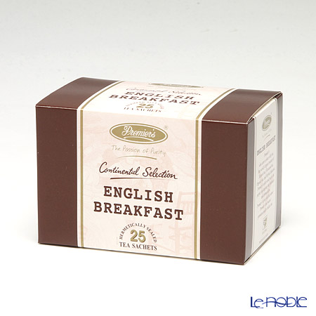 プリミアスティー(高級インド紅茶) コンチネンタルセレクションティーバッグセット 25個入 イングリッシュブレックファースト