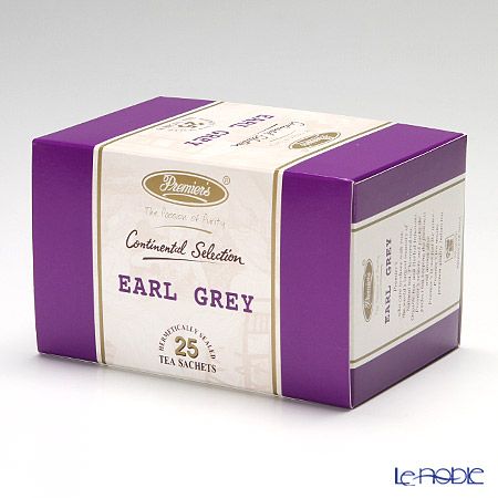 プリミアスティー(高級インド紅茶) コンチネンタルセレクション ティーバッグセット 25個入 アールグレイ