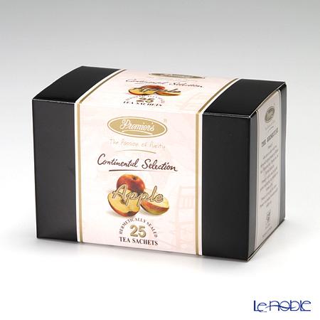 プリミアスティー(高級インド紅茶) コンチネンタルセレクション ティーバッグセット 25個入 アップル