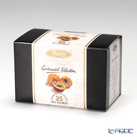 プリミアスティー(高級インド紅茶) コンチネンタルセレクション ティーバッグセット 25個入 ピーチ