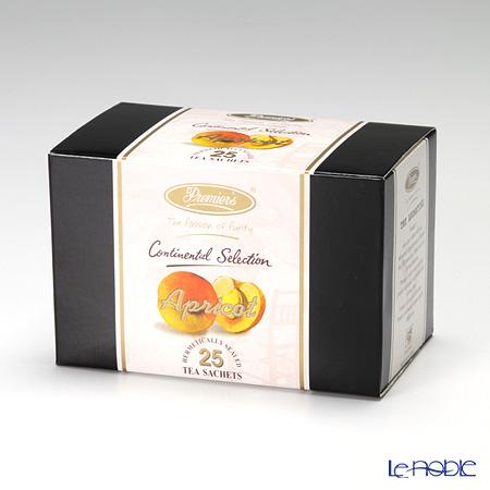 プリミアスティー(高級インド紅茶) コンチネンタルセレクション ティーバッグセット 25個入 アプリコット