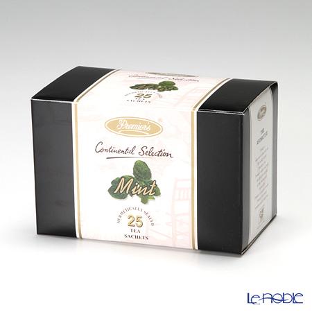 プリミアスティー(高級インド紅茶) コンチネンタルセレクション ティーバッグセット 25個入 ミント