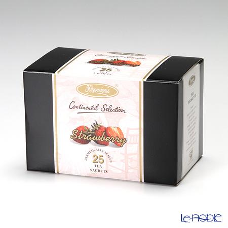 プリミアスティー(高級インド紅茶) コンチネンタルセレクション ティーバッグセット 25個入 ストロベリー