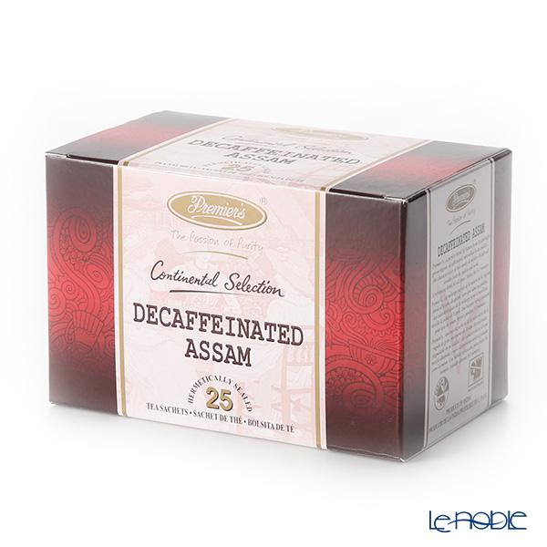 プリミアスティー(高級インド紅茶) コンチネンタルセレクション ティーバッグセット 25個入 アッサム デカフェ