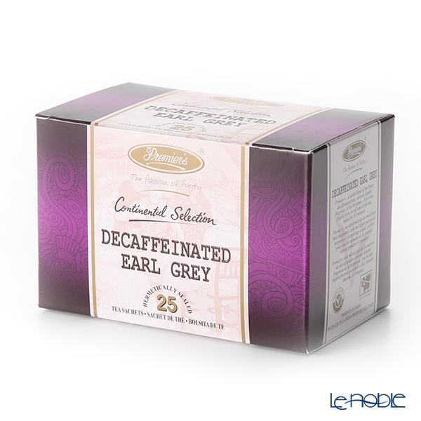 プリミアスティー(高級インド紅茶) コンチネンタルセレクション ティーバッグセット 25個入 アールグレイ デカフェ