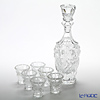 Frantisek Halama 'Montmartre' Clear FH-1656 Liqueur Glass & Decanter (set of 7 for 6 persons)