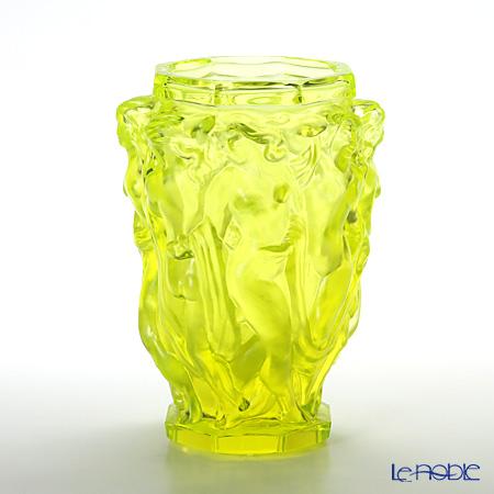 フランティシェク・ハラマ FH-1940 花瓶 乙女の水浴び uranit(ウランガラス)