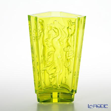 フランティシェク・ハラマ FH-1694 花瓶 朝・昼・夜 uranit(ウランガラス)
