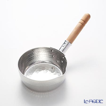 大阪堺の料理道具 助松 アルミ打出し雪平鍋 15cm