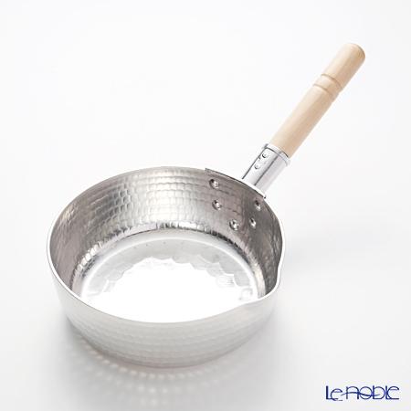 Osaka Sakai Kitchen Ware 'Suke Matsu' Aluminum Repousse Yukihira Nabe / Sacse Pan 18cm