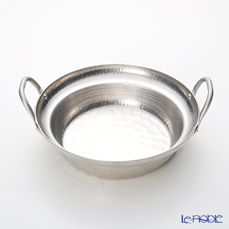 Osaka Sakai Kitchen Ware 'Suke Matsu' Aluminum Repousse Yose Nabe / Japanese Stew Pot 24cm