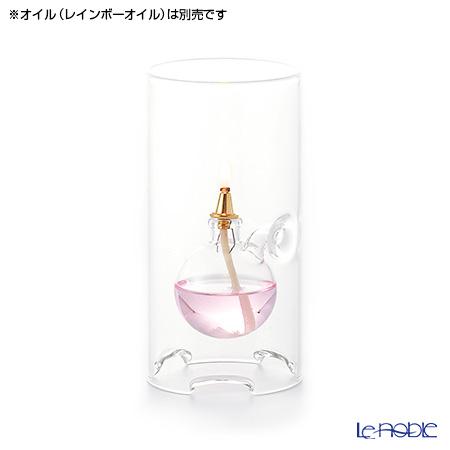 ルナックス 筒型 (ボウル 小) OLC-01オイルランプ ※オイル(レインボーオイル)は別売※