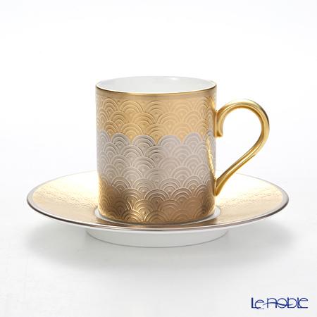 ニッコー FORTUNE 12820-2100/2101 エスプレッソ碗皿 130cc