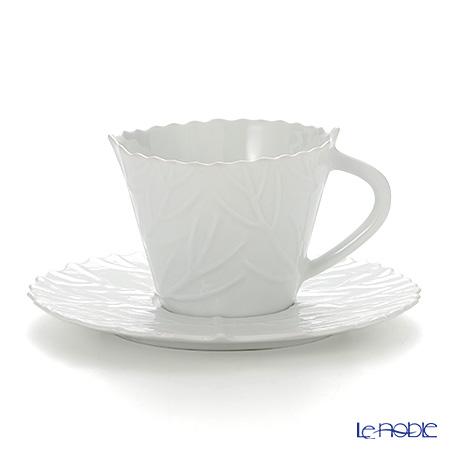 リモージュ ジャック・ペルゲイ ポケットツリーティーカップ&ソーサー 210cc JP0104PTWH