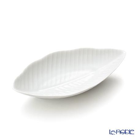 リモージュ ジャック・ペルゲイ バナナリーフクーププレート 16.5cm JP1602BLWH