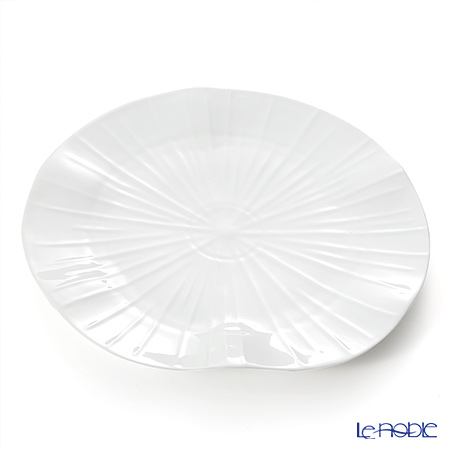 Jacques Pergay (Limoges) Lotus Charger Plate JP3101LOWH