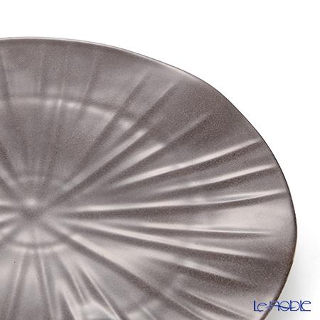 Limoges Jack PERGA Lotus Brown Dessert plate 22 cm JP2201LOBR