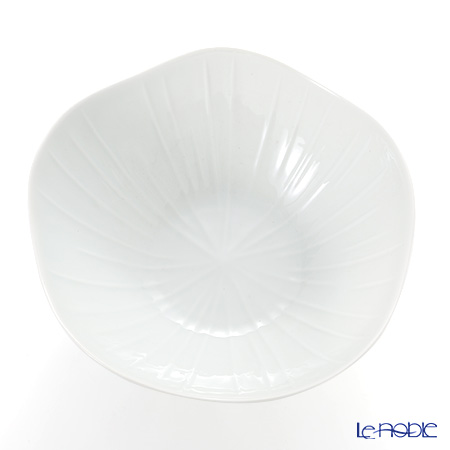 Jacques Pergay / Limoges 'Lotus / Leaf' JP2503LOWH Salad Bowl 25cm
