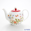 Aynsley Cottage Gardern Red Teapot 4 cup (round)