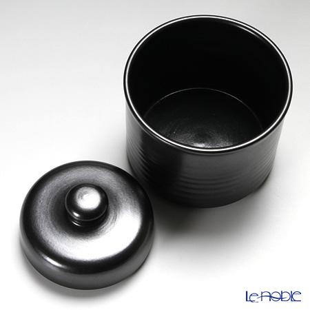 Shigaraki Ware 'Magic Black' Pickle Pot 500ml