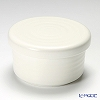 Shigaraki Ware 'Magic White' Covered Rice Bowl 500ml