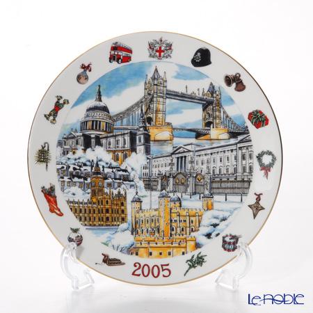 エインズレイ ファインアート世界限定コレクション イヤープレート 2005年