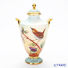 Aynsley Fine Art Collection Vase 24 cm, Linnaeus (Bird)