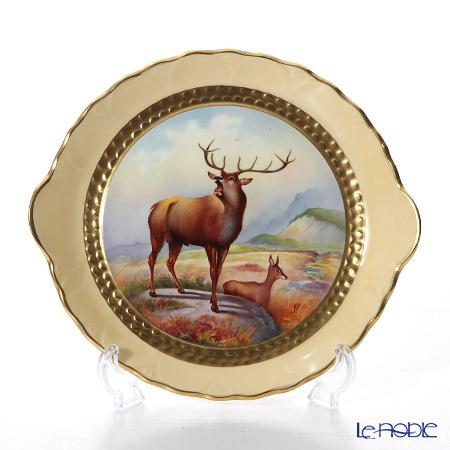エインズレイ ファインアート世界限定コレクションブルースタッグ クライドトレイ
