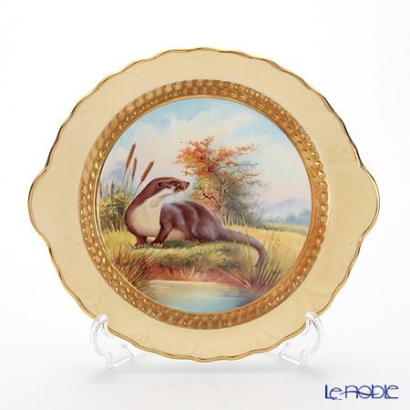 エインズレイ ファインアート世界限定コレクションオタークライドトレイ(カワウソ)
