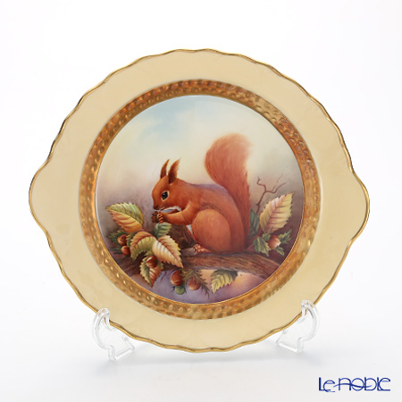 Aynsley Fine Art Collection Clyde Tray, Red Squirrel