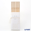Cohana, Origami Hashi Decoration, Chopstick rest & Chopstick 24 cm set of 5 pcs, white HD-906-WWW