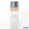 Cohana, Origami Hashi Decoration, Chopstick rest & Chopstick 24 cm set of 5 pcs, indigo blue HD-908-KAW