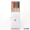 Cohana, Origami Hashi Decoration, Chopstick rest & Chopstick 24 cm set of 5 pcs with wooden box, ISEMITATE HD-924-IM5