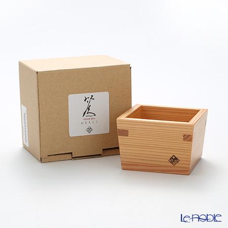 Omoeraku Nikko Cedar Sake Japan Sake Vessel Series Masu Cup - L