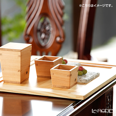 Omoeraku Nikko Cedar Sake Japan Sake Vessel Series Masu Cup - S