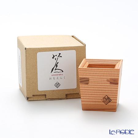 Omoeraku Nikko Cedar Sake Japan Sake Vessel Series Sakazuki - Cup