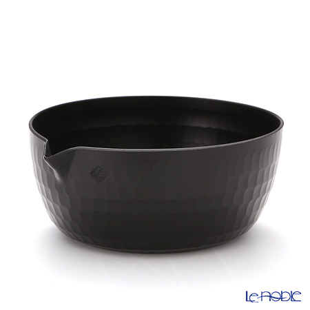Omoeraku 'Yattoko' Black Pot / Bowl 400ml (L)