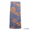 Imabari towel/今治毛巾 Moist Face towel `Leaf` Blue cotton 100% 34 x 90 cm