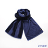 Imabari towel/今治毛巾 Reversible long towel  Muffler  Dark blue  25 x 180 cm cotton100% UVcut