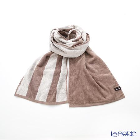 Imabari towel/今治毛巾 Reversible long towel  Muffler  Beige   25 x 180 cm cotton100% UVcut
