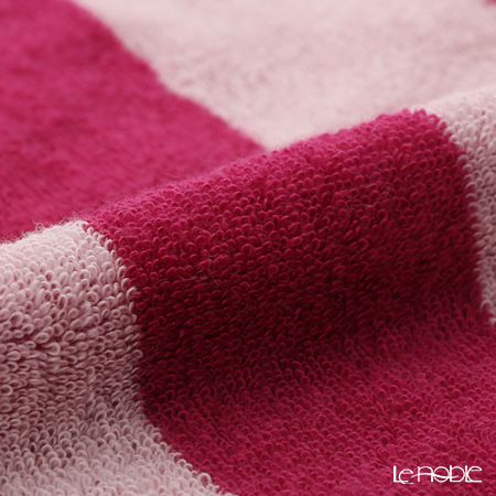 Imabari towel/今治毛巾 Reversible long towel  Muffler  Dark Pink 25 x 180 cm cotton100% UVcut
