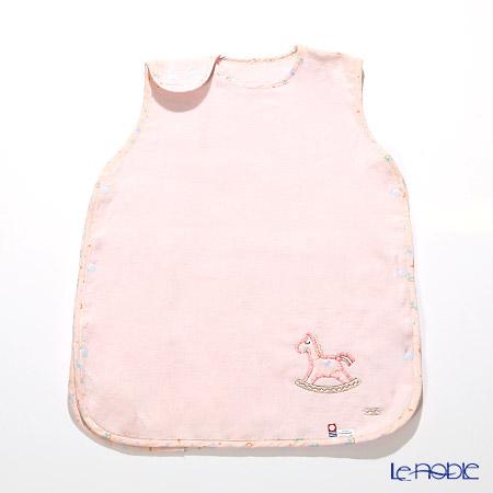 今治タオル アップリケスリーパー ピンク 木馬 綿100% 60×46cm
