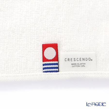 Imabari Towel 'Initial - N' White Towel 25cm 今治毛巾
